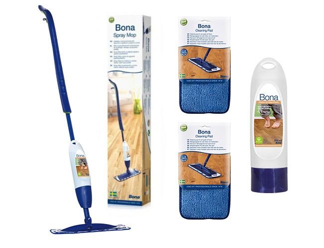 Bona Spray Mop do podłóg olejowanych - zestaw - zdjęcie główne