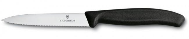 Victorinox nóż do jarzyn 10 cm czarny - zdjęcie główne