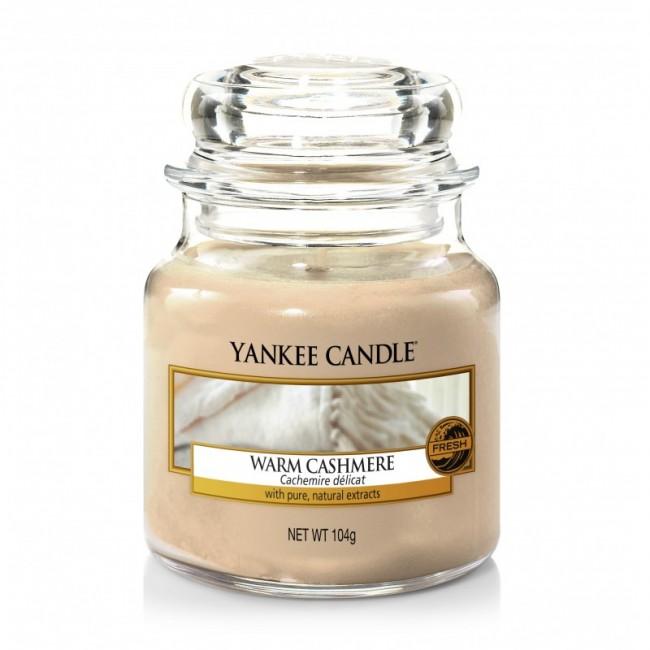 Yankee Candle Warm Cashmere słoik mały 104g - zdjęcie główne