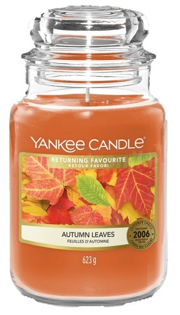 Yankee Candle Autumn Leaves Słoik duży 623g - zdjęcie główne