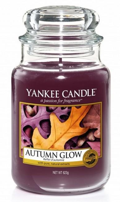 Yankee Candle Autumn Glow Słoik duży 623g - zdjęcie główne