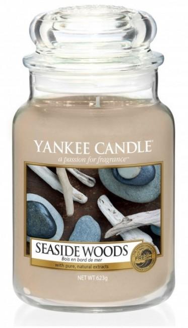 Yankee Candle Seaside Woods Słoik duży 623g - zdjęcie główne