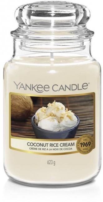 Yankee Candle Coconut Rice Cream Słoik duży 623g - zdjęcie główne