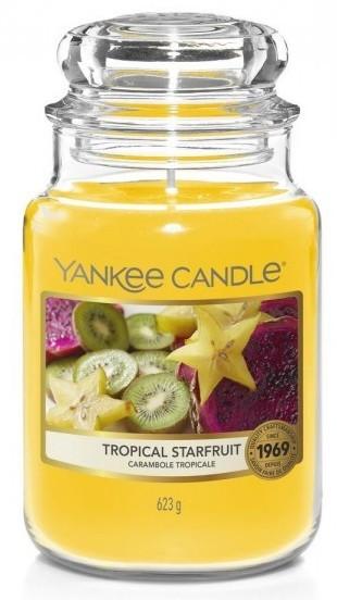 Yankee Candle Tropical Starfruit Słoik duży 623g - zdjęcie główne