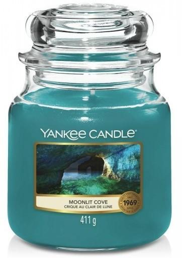 Yankee Candle Moonlit Cove Słoik średni 411g - zdjęcie główne