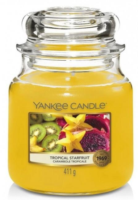Yankee Candle Tropical Starfruit Słoik średni 411g - zdjęcie główne