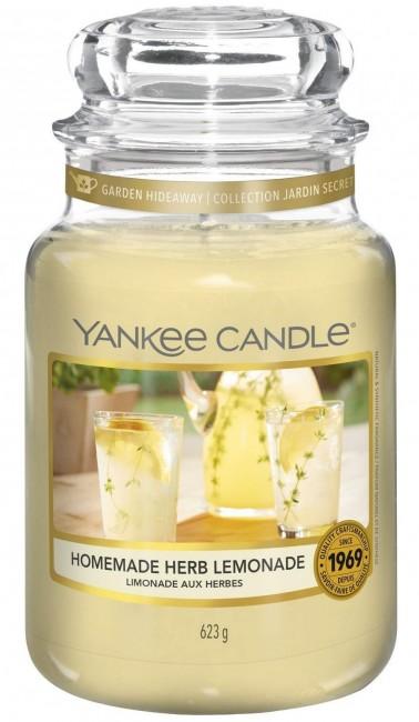 Yankee Candle Homemade Herb Lemonade Słoik Duży 623g - zdjęcie główne