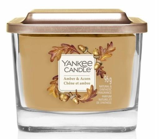 Yankee Candle Elevation Collection Amber & Acorn Słoik mały 96g - zdjęcie główne