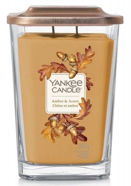 Yankee Candle Elevation Collection Amber & Acorn Słoik duży 552g - zdjęcie główne