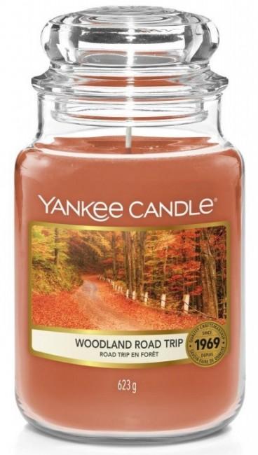 Yankee Candle Woodland Road Trip Słoik duży 623g - zdjęcie główne