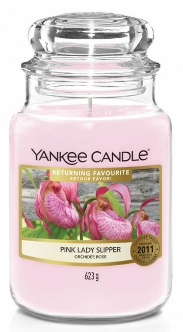 Yankee Candle Pink Lady Slipper Słoik duży 623g - zdjęcie główne