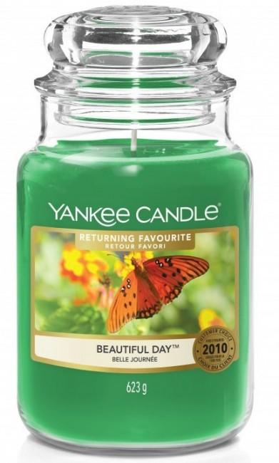 Yankee Candle Beautiful Day Słoik duży 623g - zdjęcie główne