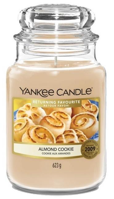 Yankee Candle Almond Cookie Słoik duży 623g - zdjęcie główne