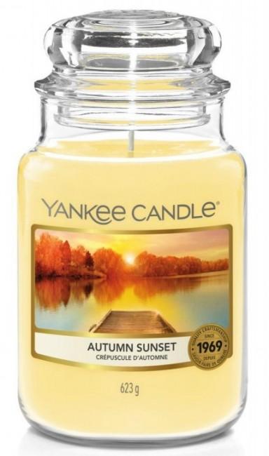 Yankee Candle Autumn Sunset Słoik duży 623g - zdjęcie główne