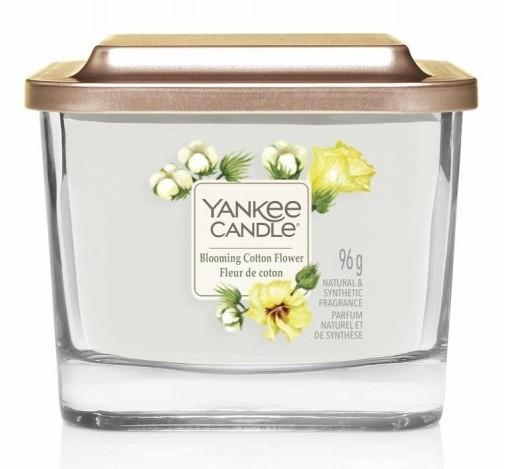 Yankee Candle Elevation Collection Blooming Cotton Flower Słoik mały 96g - zdjęcie główne