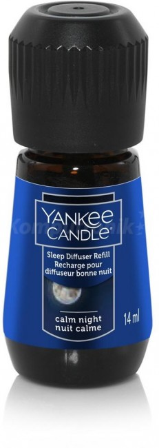 Yankee Candle Sleep Diffuser Calm Night olejek zapachowy - zdjęcie główne