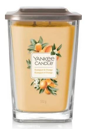 Yankee Candle Elevation Collection Kumquat & Orange Słoik duży 552 g - zdjęcie główne