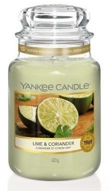 Yankee Candle Lime & Coriander Słoik duży 623g - zdjęcie główne