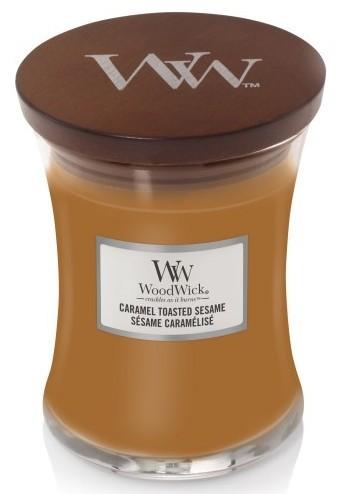 WoodWick Caramel Toasted Sesame 275g - zdjęcie główne