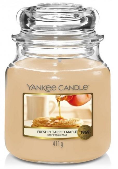 Yankee Candle Freshly Tapped Maple Słoik średni 411g - zdjęcie główne