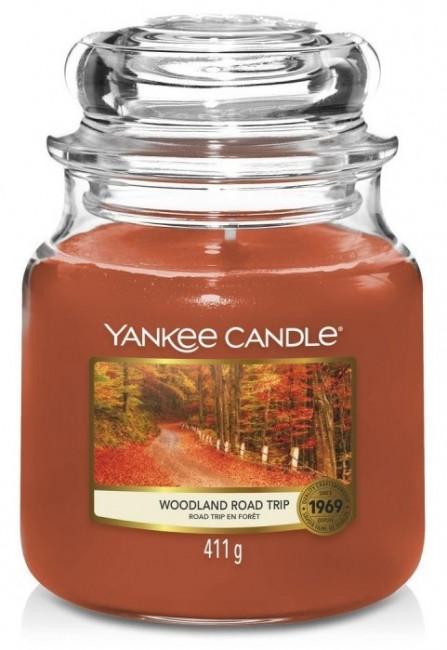 Yankee Candle Woodland Road Trip Słoik średni 411g - zdjęcie główne