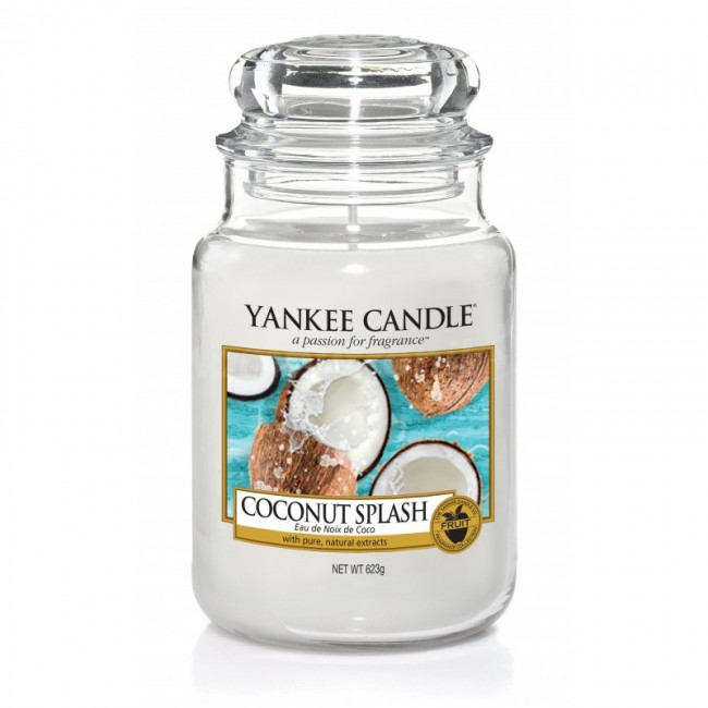 Yankee Candle Coconut Splash Słoik duży 623g - zdjęcie główne