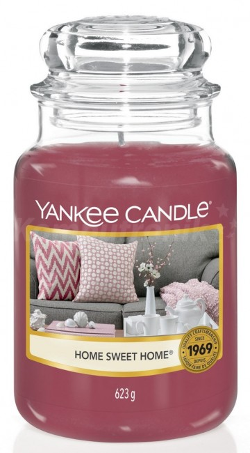 Yankee Candle Home Sweet Home Słoik duży 623g - zdjęcie główne