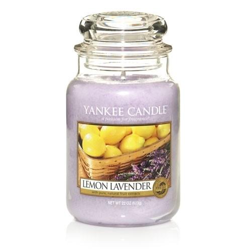 Yankee Candle Lemon Lavender Słoik duży 623g - zdjęcie główne