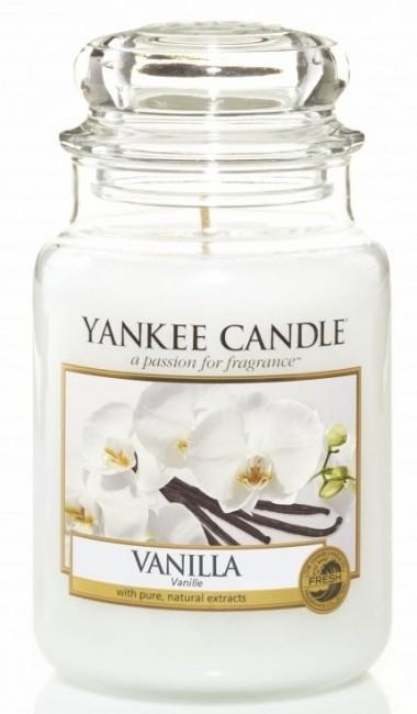 Yankee Candle Vanilla Słoik duży 623g - zdjęcie główne