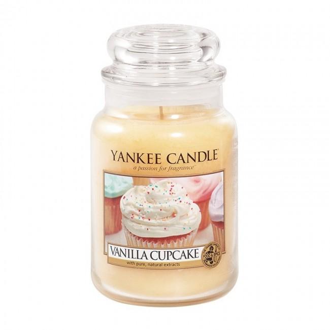 Yankee Candle Vanilla Cupcake Słoik duży 623g - zdjęcie główne
