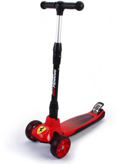 Ferrari hulajnoga trójkołowa FXK58 czerwona - zdjęcie główne