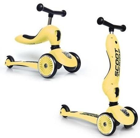 Scoot & Ride Highwaykick 1 2w1 Lemon 96354 - zdjęcie główne