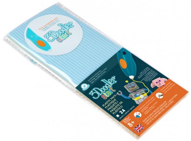 3Doodler Start - wkład pastelowy niebieski - zdjęcie główne