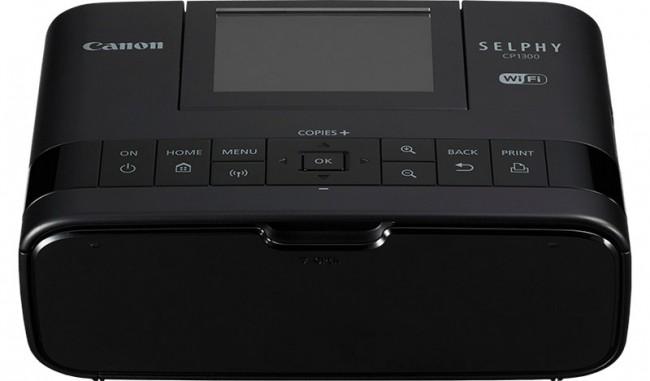 Canon SELPHY CP1300 Czarna - zdjęcie główne