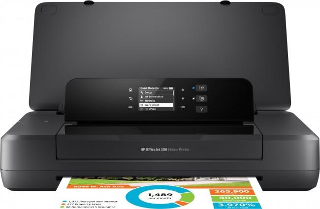 HP OfficeJet 202 Printer - zdjęcie główne