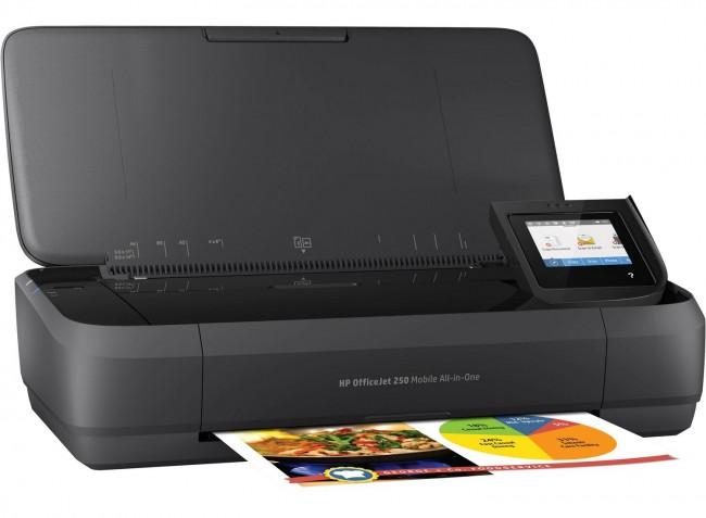 HP OfficeJet 250 Printer - zdjęcie główne