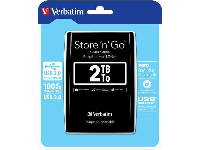 Verbatim Store 'n' Go 2TB - zdjęcie główne