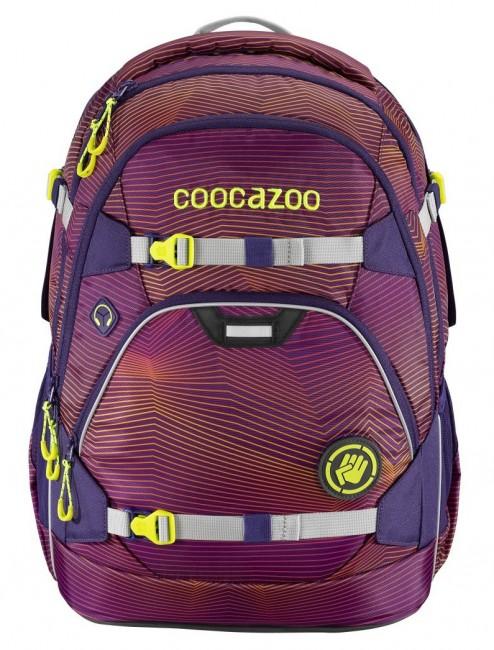 Coocazoo ScaleRale system MatchPatch Soniclights Purple - zdjęcie główne