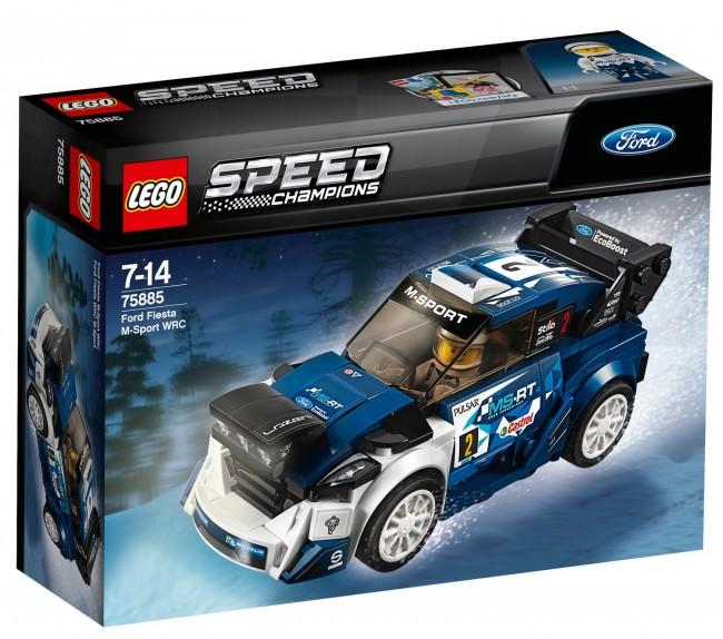 LEGO SPEED CHAMPIONS Ford Fiesta M-Sport WRC p6 - zdjęcie główne