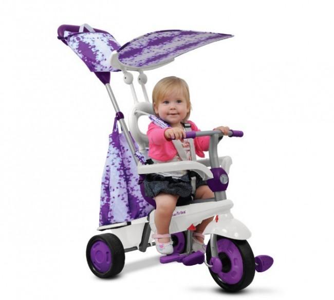Smart Trike Spirit fioletowy - zdjęcie główne
