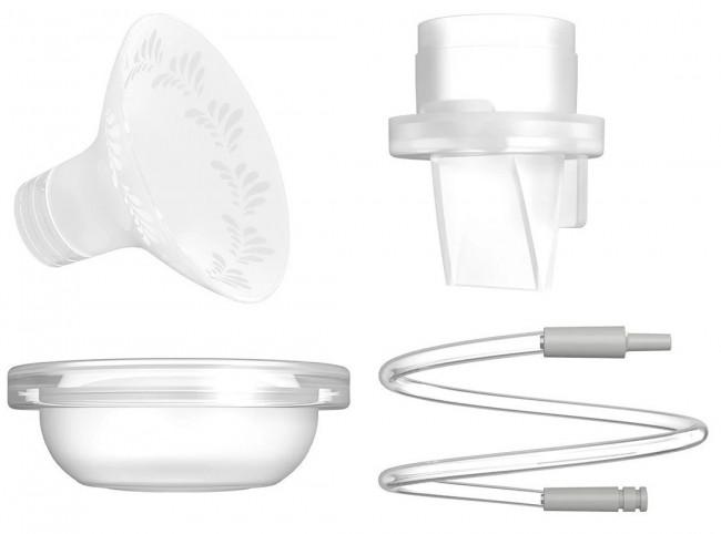 Neno Spare Parts zestaw akcesorów do laktatorów (2x membrana, 2x zaworek, 1 x rurka, 1 x osłonka) - zdjęcie główne