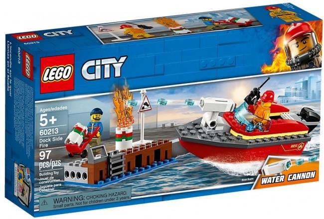 Lego City Pożar w dokach 60213 - zdjęcie główne