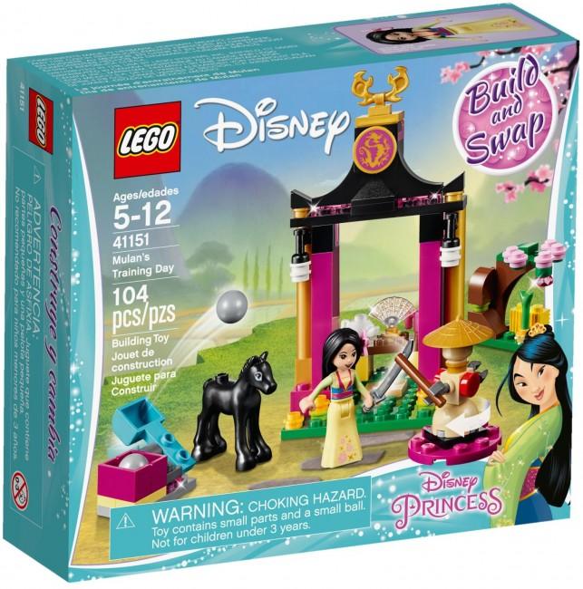 LEGO Disney Princess Szkolenie Mulan 41151 - zdjęcie główne