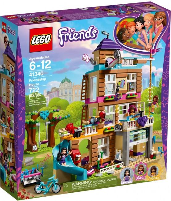 Lego Friends Dom Przyjaźni 41340 Cena Raty Sklep Komputronikpl