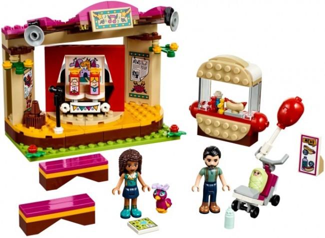 LEGO Friends Pokaz Andrei w parku 41334 - zdjęcie główne