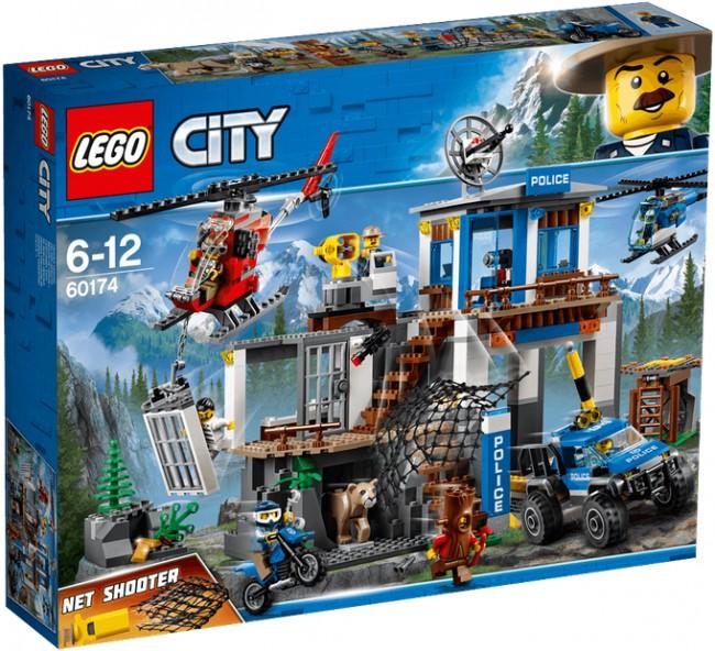 Lego City Górski Posterunek Policji 60174 Cena Raty Sklep