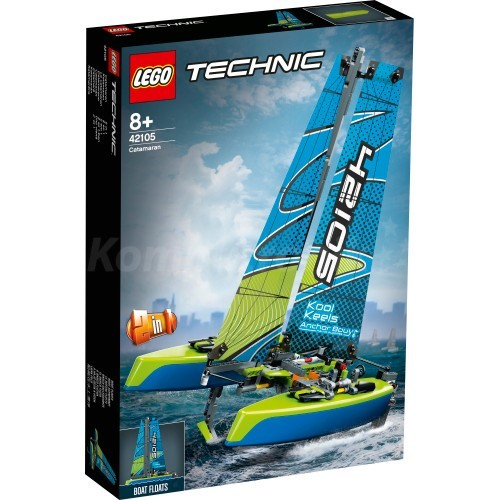 Lego Technic Katamaran - zdjęcie główne