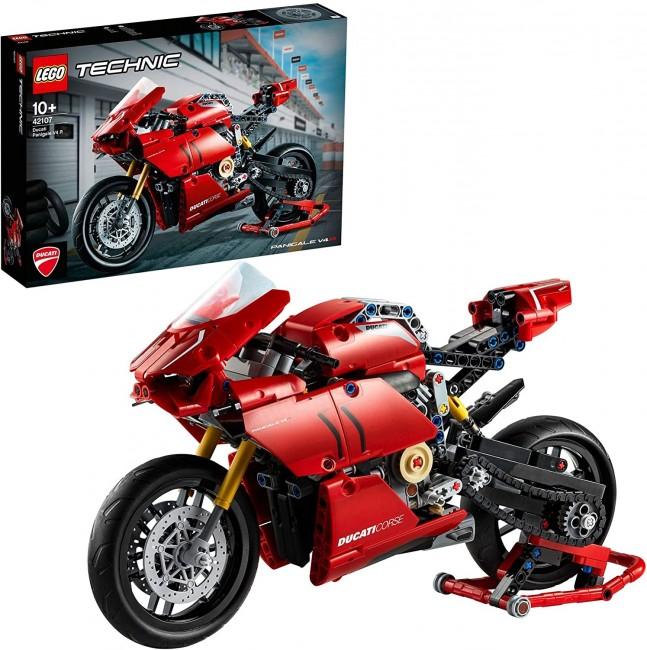Lego Technic Ducati Panigale V4 R p3 - zdjęcie główne