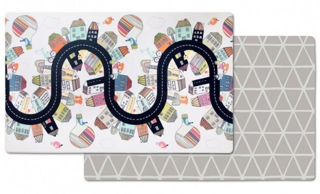 Skip Hop Dwustronny dywan piankowy Wesołe Podwórko - zdjęcie główne