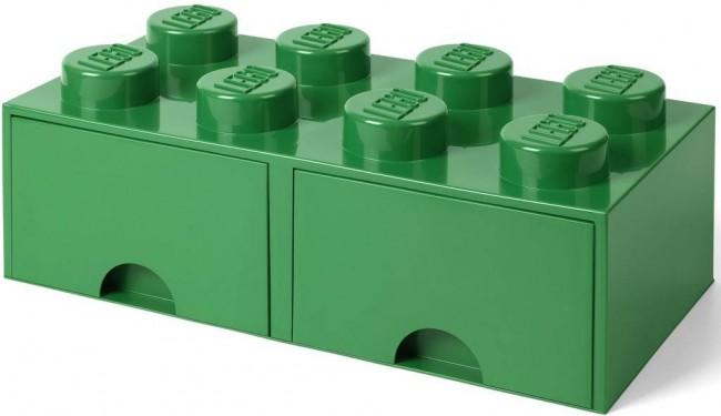 Lego Brick Drawer 8 zielony - zdjęcie główne